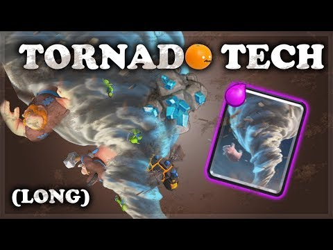 How to Use Tornado Tech | Clash Royale | EXTENDED VERSION