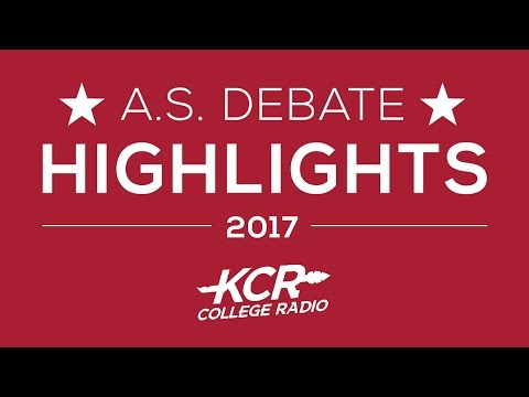 KCR A.S. Presidential Debate Highlights: Kaitlyn Hart