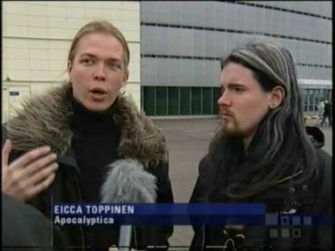 Apocalyptica interview #1 by Tomi Lindblom (2005) / Finland