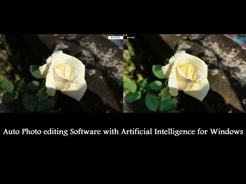 Auto Photo editing Software with Artificial Intelligence for Windows thumbnail