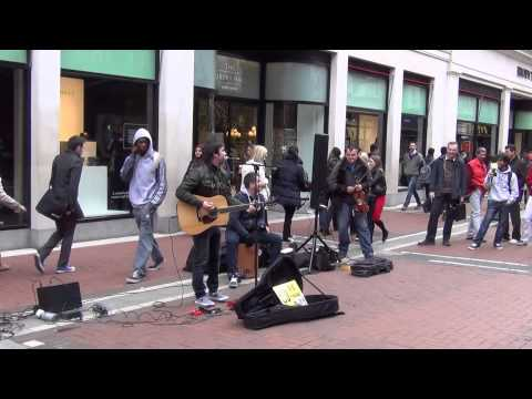 Dublin Street Performers - U2 One Cover - Watch The End