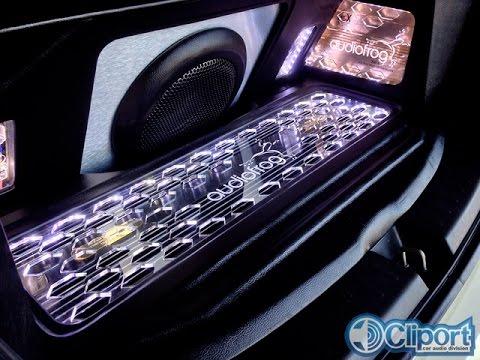 Audiofrog GB Series 3way Active Honda Jazz GE8 By Cliport-Audio