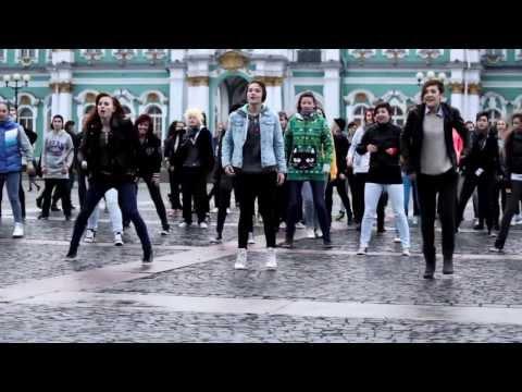 Видео: K-pop Flashmob 2013 in Russia St. Petersburg