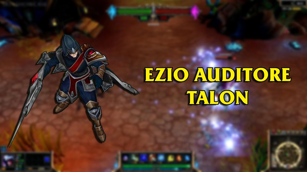Ezio Auditore Talon LoL Custom Skin ShowCase YouTube