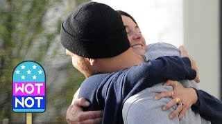 Shailene Woodley Theo James Share A Big Hug After Lunch Together in Los Angeles
