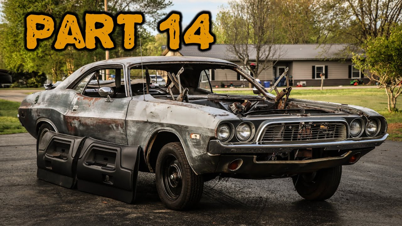 ABANDONED Dodge Challenger Rescued After 35 Years Part 14: New Interior Parts!
