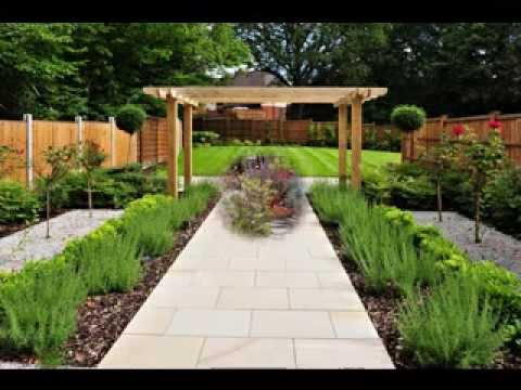 cheap garden path ideas youtube. Black Bedroom Furniture Sets. Home Design Ideas
