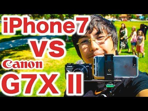 iPhone7 vs Canon G7X Mark II比較テスト - お買い得はどっち?ケンジさんVLOG_0047