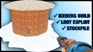 ICEBERG BASE is using LOOT ROOM EXPLOIT | SOLO RAID
