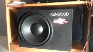 1200 WATS SUBWOOFER!! Kenwood ksc-w1200b (MAX VOLUME) - Dark Horse Katty Perry
