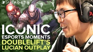 ICONIC Esports Moments: Doublelift's Lucian Outplay (LoL)
