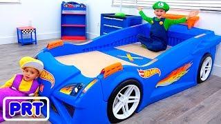 Vlad e sua nova sala de carros