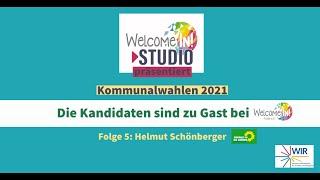 Kommunalwahlen 2021 Die Kandidaten sind zu Gast Folge 5: Helmut Schönberger - die Grünen