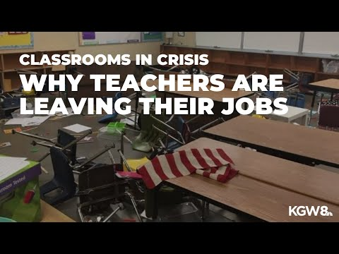 Classrooms In Crisis: Why Teachers Are Leaving Their Jobs
