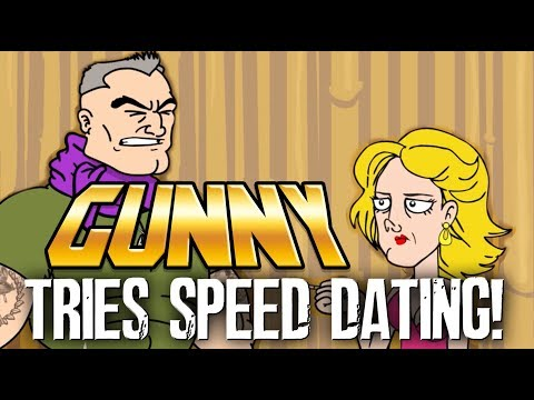 Gunny tries to put a little ten-hut in speed dating this Valentine