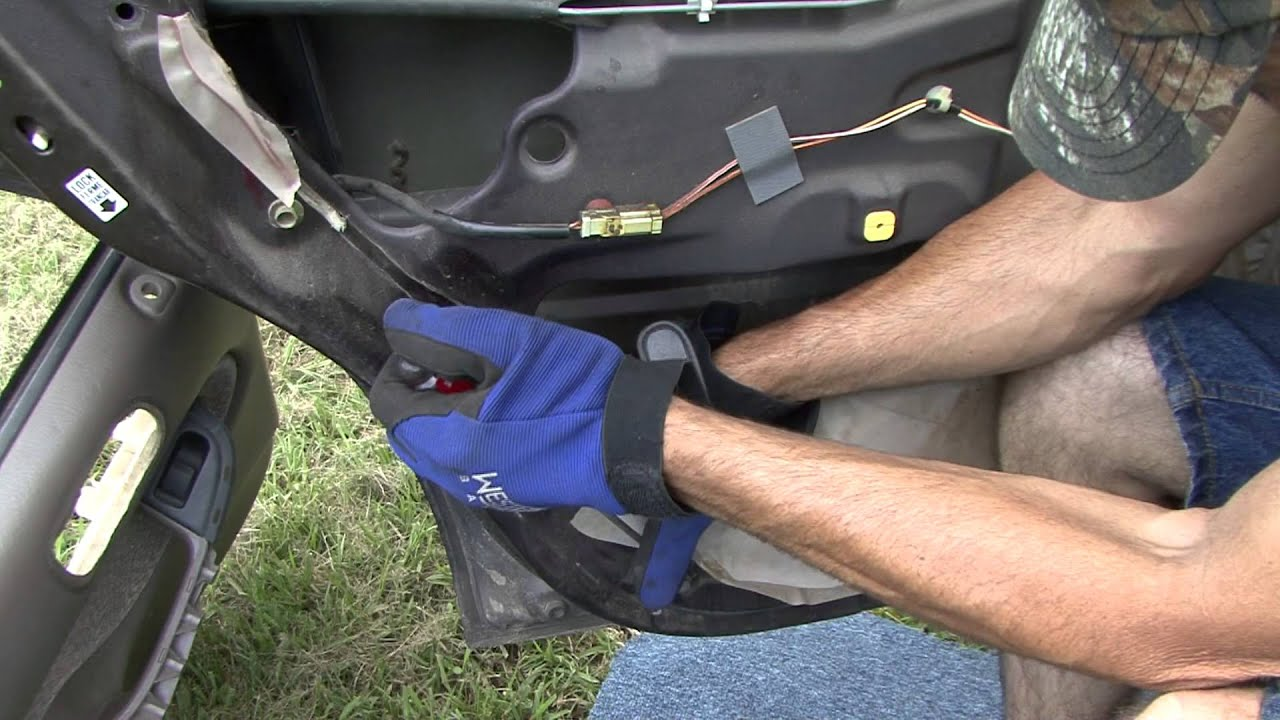 Honda Civic Back Door Handle Mod And Fix Youtube