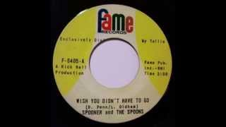 Spooner & the Spoons... Wish You Didn