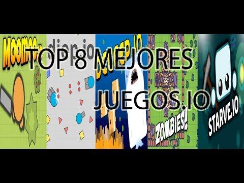 TOP 8 MEJORES JUEGOS .IO | SOLO LOS MEJORES IO!