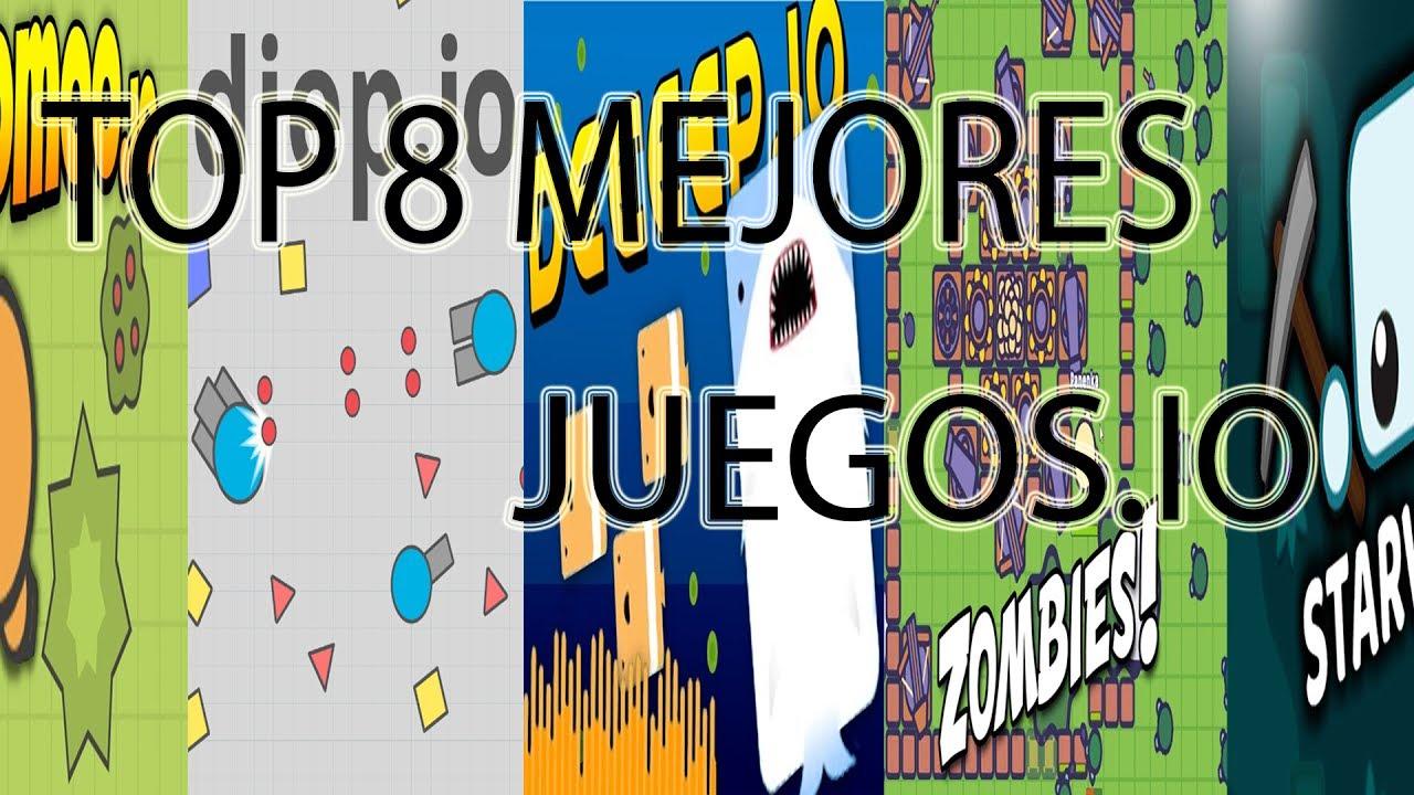 Top 8 Mejores Juegos Io Solo Los Mejores Io Youtube