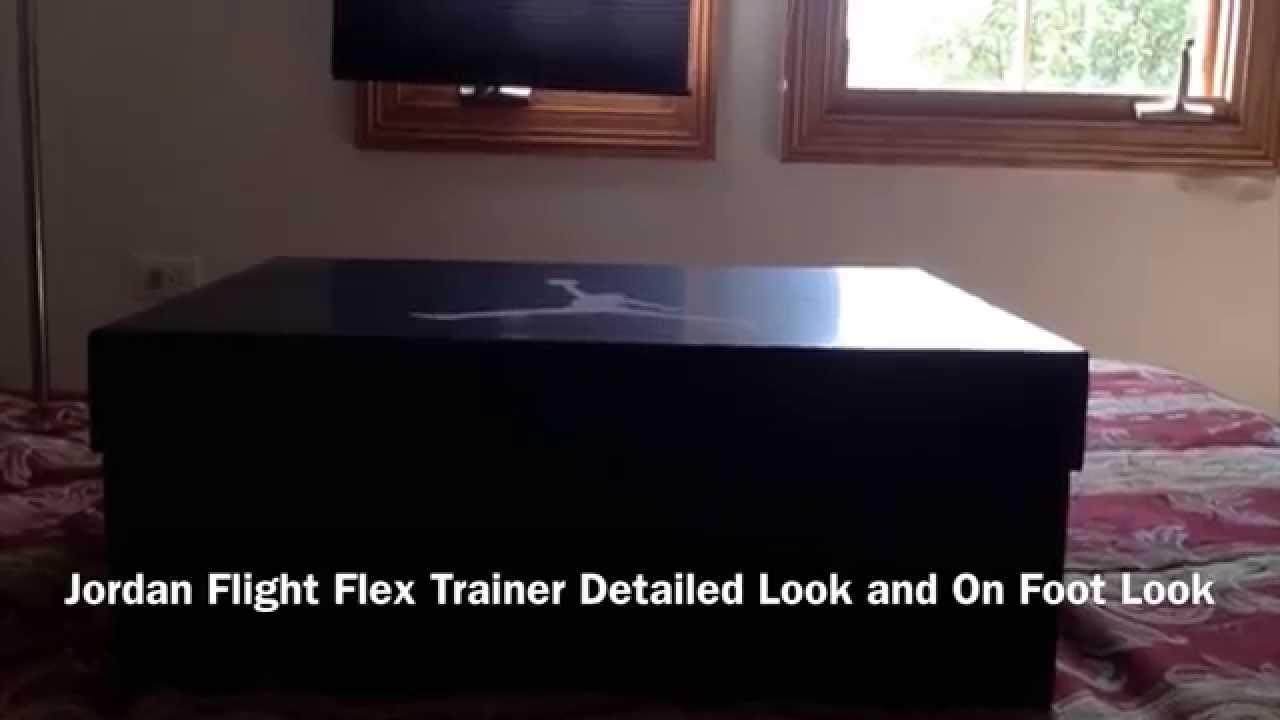 Jordan Flight Flex Trainer Detailed Look and On Foot Look - YouTube 3d586100f