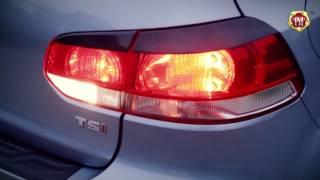 Накладки на задние фонари (Реснички) Volkswagen Golf VI 2009-2012 (russ-artel.ru)