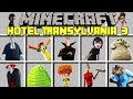 Minecraft HOTEL TRANSYLVANIA 3 MOD / HELP MONSTER GUESTS IN HOTEL! / Modded Mini-Game