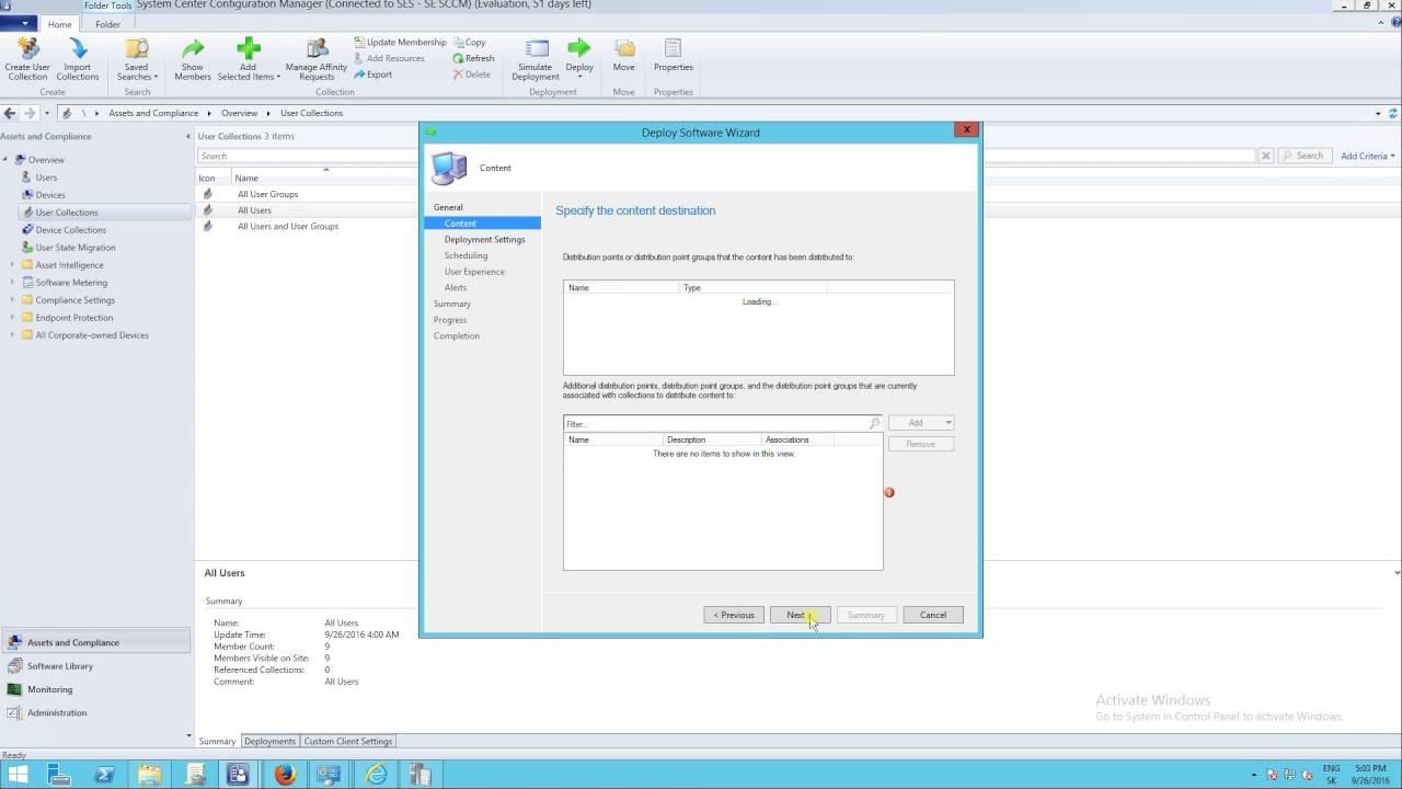 SCCM CB 1606 - Install Application Catalog web service point and  Application catalog website point