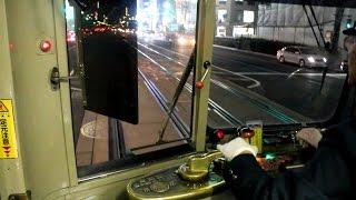 広島電鉄を走る1900形です.