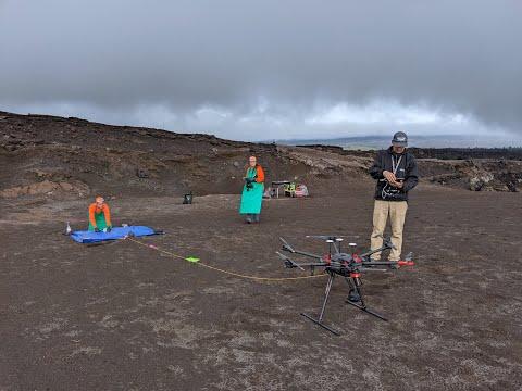 Sampling The Water In Halema'uma'u - Kīlauea Volcano
