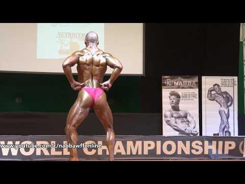 Milan Martinovic – Competitor No 39 - Men Fitness Class 2 - NABBA World Championship 2018