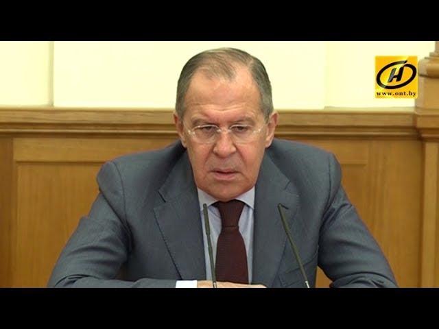Сергей Лавров: «Размещение российской военной базы в Беларуси не обсуждается»