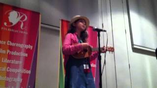 "Sunny Sings ""I Remember"" Live at California PTA Reflections 2013"