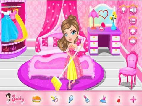Princess Castle Clean Up (Уборка в замке принцессы) - прохождение игры