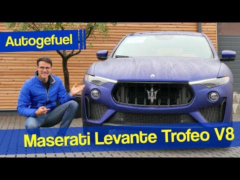 When a 580 hp Ferrari V8 meets an SUV - Maserati Levante Trofeo REVIEW