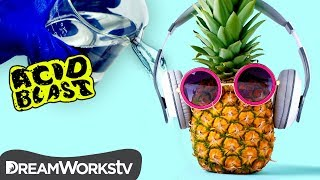 Who Lives in a Pineapple Covered in ACID?!? | ACID BLAST