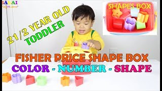 Learn Shapes Fisher-price Shape Sorting Toy|toddler Learning Videos|2-3 Year Old Learning Activity