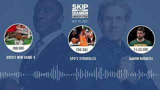 Bucks win Game 4, CP3's struggles, Aaron Rodgers   UNDISPUTED audio podcast (7.15.21)