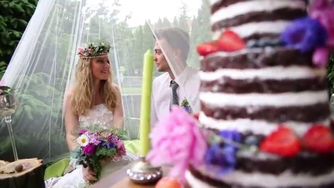 Lilac wood ( Свадьба в стиле рустик) - YouTube
