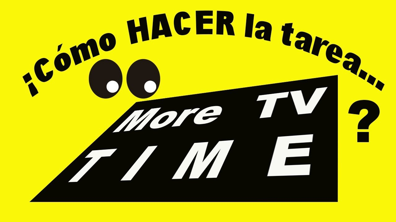 ⭐ Como hacer la tarea More TV Time de Timebucks [2019]
