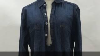 【GOLDJAPAN 大きいサイズ専門店】デニムシャンブレースキッパーシャツ ...