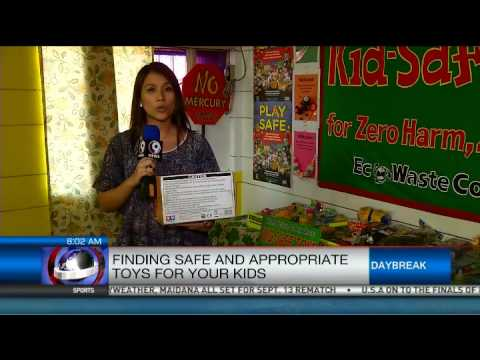 Finding safe and appropriate toys for your kids
