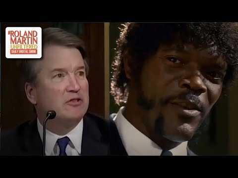 Samuel L. Jackson Takes Down Kavanaugh In Hilarious Mash-Up Of The Senate Hearing & 'Pulp Fiction'