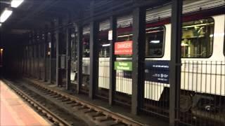 SEPTA: Subway-Surface Trolley Action at 36th Street Station