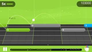 Let Go - Ukulele Yousician challenge level 2 - perfect run