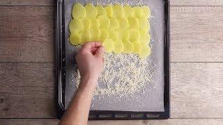 видео Рецепт картофельного рулета в духовке
