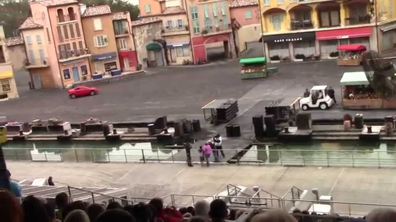 Disney World Stunt Show Cars
