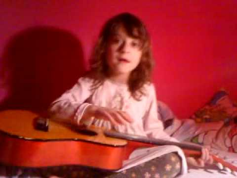 Valerie improviserar sin egen låt