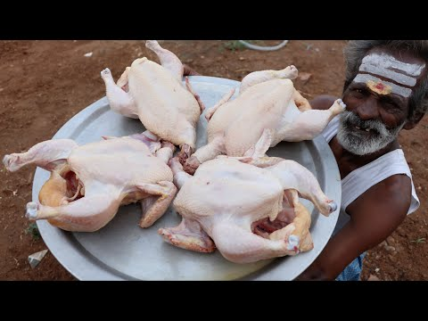 IRANI CHICKEN !!! Delicious Chicken recipe prepared by my Daddy Arumugam / Village food factory
