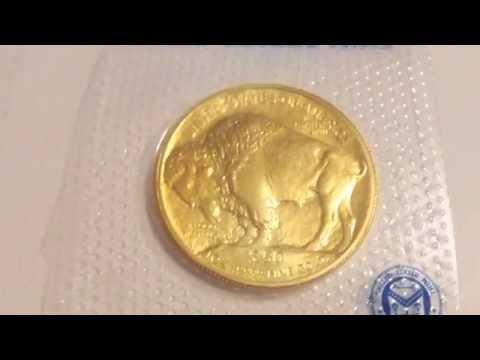 1 oz American Gold Buffalo Coin   The Last Buffalo  