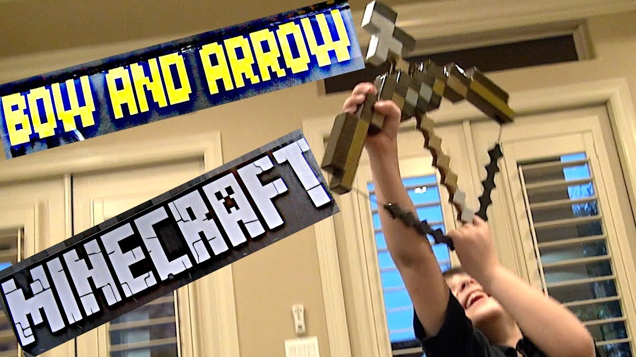 minecraft how to make a bow and arrow without string